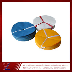 2016 wholesale high quality Blue 12mm cloth buffing wheel safety