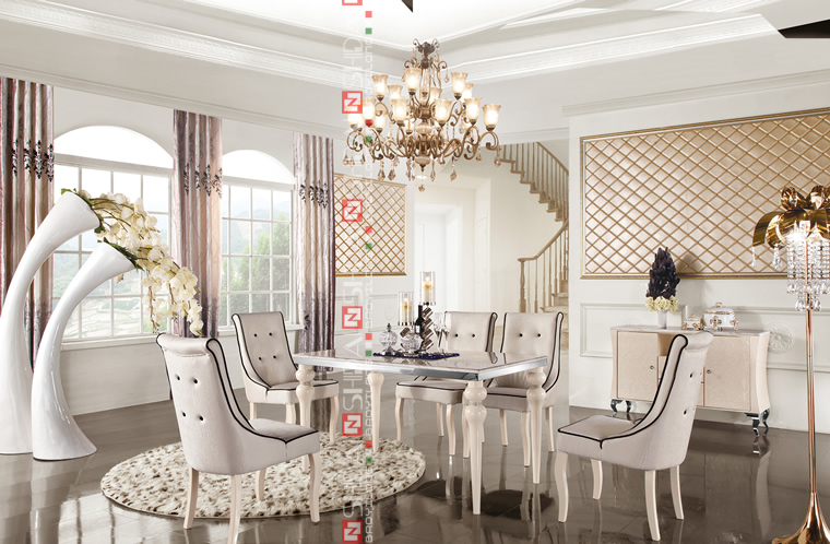 2014 대리석 최고 식탁, 인공 대리석 식사 테이블, 대리석 식탁과 ...