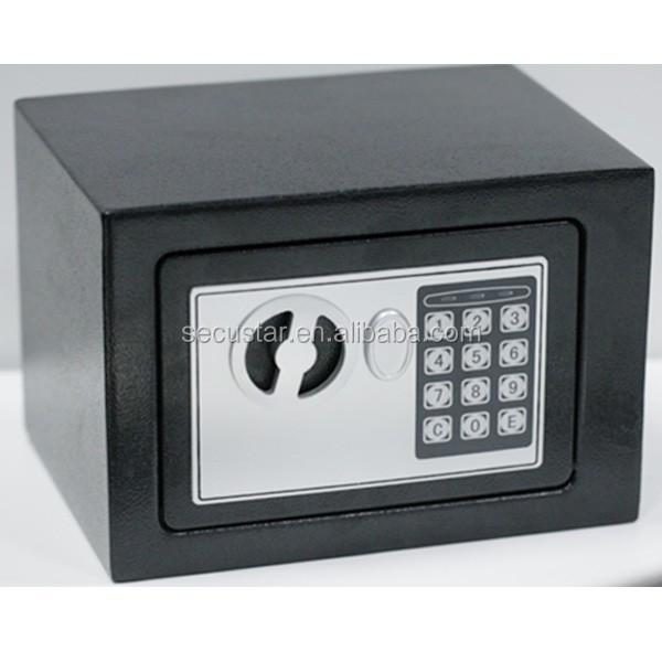 Secustar mini electronics safe e17 personal safe hotel for Buy safe room