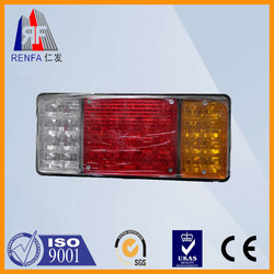 Renfa Machinery Auto parts for truck new car accessory made in China crystal tail lamp