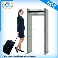 security inspection metal detector body scanner