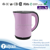 1.2L New design electric kettle with keep warm function