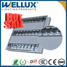 High-end 3*18w T5 Tube Grid Fluorescent Ceiling Light Fixture