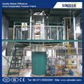 1t/d-50t/d de aceite de palma refinado de palma de la mano de la máquina refinería de petróleo de la máquina de aceite comestible máquina de refinación