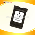 Tinta de la impresora negro cartucho CB335WN 74 para HP