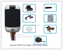 Car/Vehicle/motorcycle GPS Tracking System,SMS/GPRS Stop Engine Remotely, SOS/Acc notice Alert