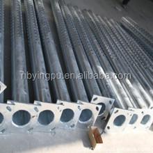 ISO 20 Years gurantee Q235 used street light poles steel street light poles,galvanized steel pole 12m