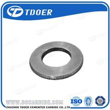 tungsten carbide sizing and forming roller for smooth wire