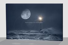 Lighthouse design newest creative led canvas artwork