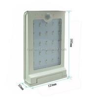 High power 1.6w Solar LED Wall lights with long lifespan