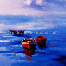 good price OEM & ODM diy canvas oil painting boats draw by number