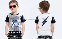 2---6 Years Old Boys Summer Tops Custom Printed T Shirt 100% Cotton Children Tee