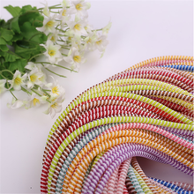 long Fashion telephone wire hair elastic band hot sale, plastic elastic hair band
