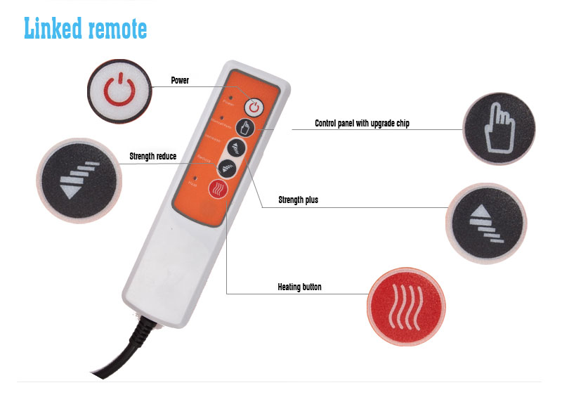Mini Electric Pulse Therapy Stimulation Personal Massager