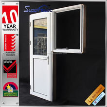 double glazing Customer logo & design side hinged door