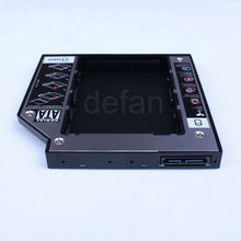 2nd HDD hard disk caddy 12.7mm SATA to SATA for laptops universal CD/DVD-ROM