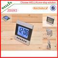 el más barato de moda de escritorio lcd reloj digital zd593