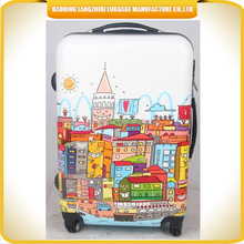 made in china luggage trolley bags ABS luggage bags and cases