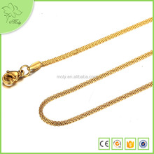 Lastest Golden Chain Necklace New Gold Long Chain Designs for Men