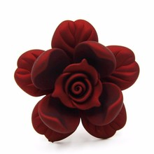 New product multicolor 52mm multilayer combination acrylic women flower hair accessories P02820
