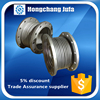 Thermal movement pipework expansion metallic compensators