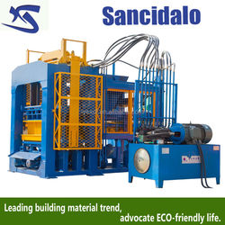 hydraulic automatic cement brick making machine price in india