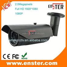 Economic 720P/960P/1080P HD CVI Security system outdoor bullet IR Varifocal waterproof camera