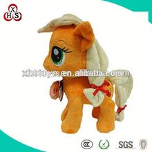 Cute Soft Stuffed Funny Factory Price horse hand puppet
