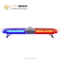 High power electronic police led roof light bar with speaker and siren for emergency use TBD-2000H