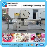 T400 Die Cut Soft Toffee Candy Making Machine