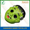 X-MERRY Green Face No eyes Monster Face Mask Halloween Mask Scary Party Decoration EVA