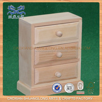 New Cheap Wholesale Unfinished Wooden Miniature Furniture For Sale