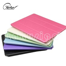 H&H Ultrathin leather flip case for Apple iPad AIR/iPad 5 stand case