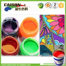 chemikalien umweltfreundliche pigment latex für polster malen färbung