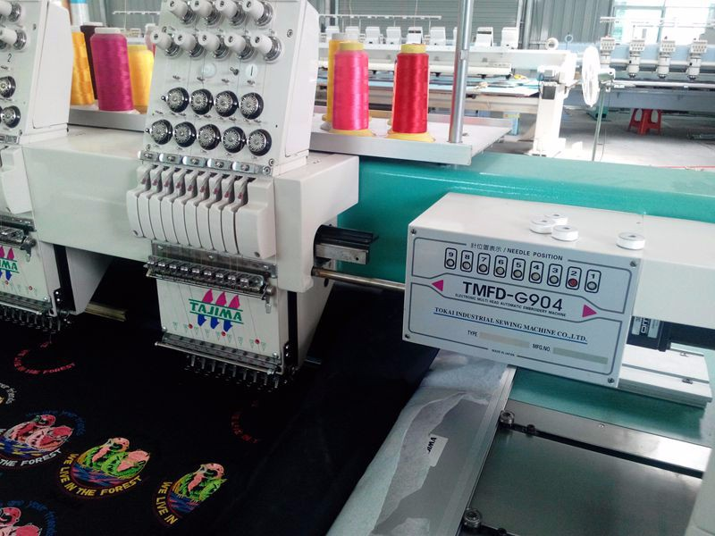 cost of embroidery machine