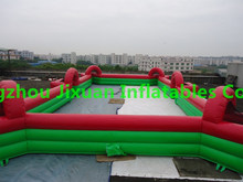 Customized inflatable soccer field,Inflatable Soccer Arena,inflatable soccer pitch