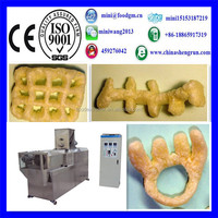 hot sale small snack food machine/extruder for corn sticks
