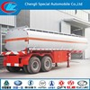 2 AXLES FUEL TANKER TRAILER STAINLESS STEEL FUEL TANKER 40000LITERS OIL TANK TRAILER FOR SALE