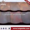 tejas de terracota de techo de múltiples colores mezclados para villa