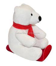 TCCC audity ICTI/SEDEX/BSCI/GSV/GOTS AUDIT factory plush bear toys 4pcs plush toys -01