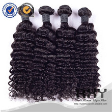 high quality cheap price deep wave human hair extensions china factory