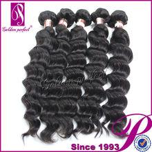 Barato venta al por mayor sin procesar de la virgen del pelo de la pluma