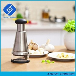 New High Quality Stainless Steel Fruit Salad Vegetable Onion Hand Chopper Slicer Cutter Kitchen Press Tools Peeler Grater Hot