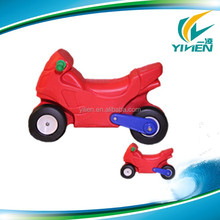 Plastic motorcycle kick scooter for kids