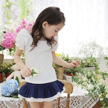 MS63754C kids girls summer latest blouse design pictures