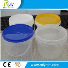 500ml mini plastic food packing bucket for sale