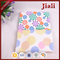 wholesale custom high quality dots printed microfiber bath towels