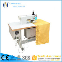 2015 hot sale ultrasonic table cloth making machine,CE approved