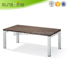New style quality wood slab coffee table