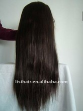 direct factory large stock! natural color virgin remy human hair grey lace front wig